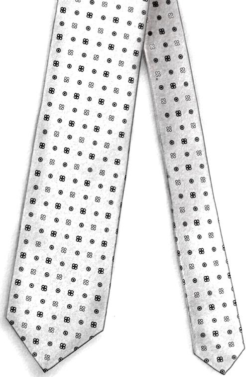 Cravatta Tre Pieghe Sfoderata