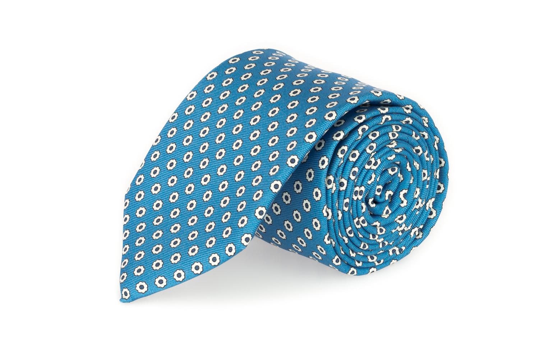 Le cravatte sette pieghe primavera estate 2020 azzurro fantasia fiori